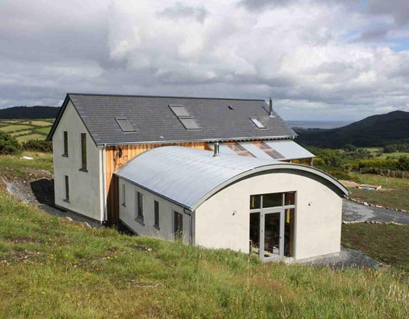 Timber-frame Dwelling in the Mournes